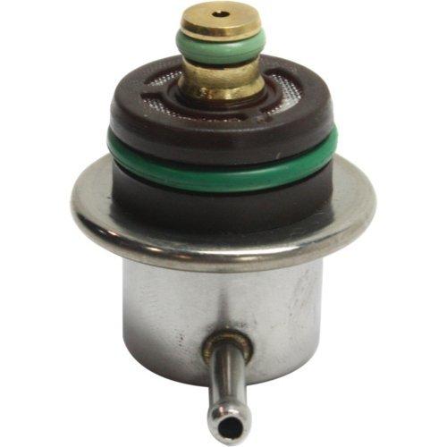 Evan-Fischer EVA21632141838 Fuel Pressure Regulator for Scirocco 89-89/Regal 90-95/Jetta 93-05/11-12/14-14 Angled Nipple (Audi Fuel Pressure Regulator)