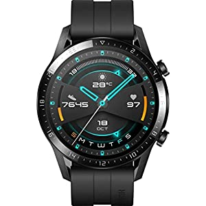 HUAWEI Watch GT 2 2019 Bluetooth SmartWatch, Sport GPS 14 Days Working Fitness Tracker, Blood Oxygen Monitor Heart Rate… Huawei