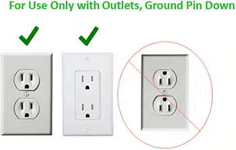 Sleek Socket Ultra-Thin Electrical Outlet Cover with 3 Outlet Power Strip and Cord Management Kit, 8-Foot, Standard Size