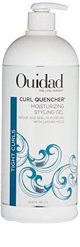 OUIDAD Curl Quencher Moisturizing Styling Gel, 33.8 Fl Oz (Ouidad Curl Quencher Hydrafusion Intense Curl Cream)