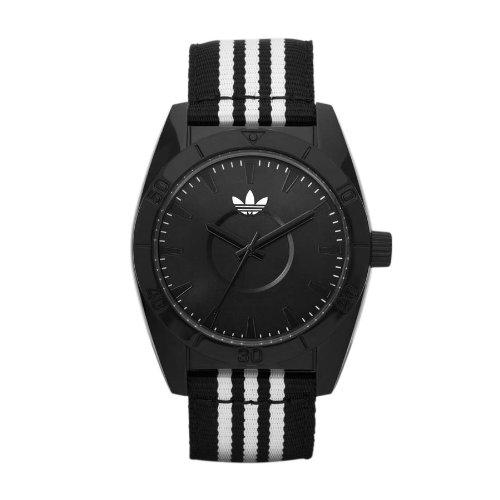 adidas Originals ADH2659 - Reloj analógico de cuarzo para hombre con correa de tela, color negro: Amazon.es: Relojes