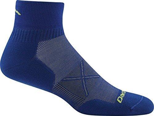 Darn Tough Vertex Quarter Crew ULtralight Cushion Socks - Men's Marine X-Large