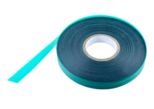 Laicol 300 Feet X ½ Inch X 4 Millimeters Green Garden Stretch Tie Vinyl  Plant Tape