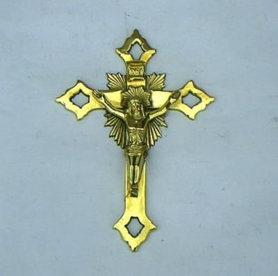 India Overseas Trading Corporation BR3603 - Solid Brass Cross