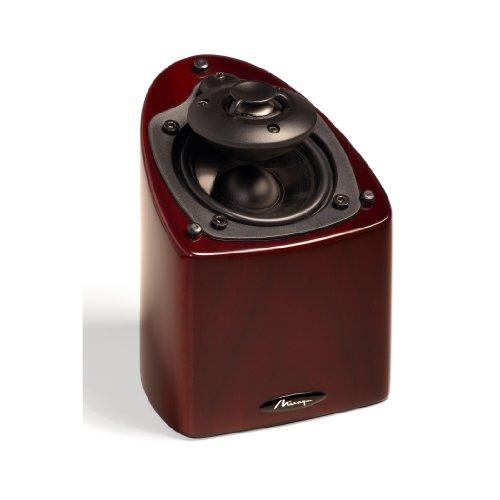 (Mirage Nanosat Prestige Small High-Performance Speaker (Single, High Gloss Rosewood))