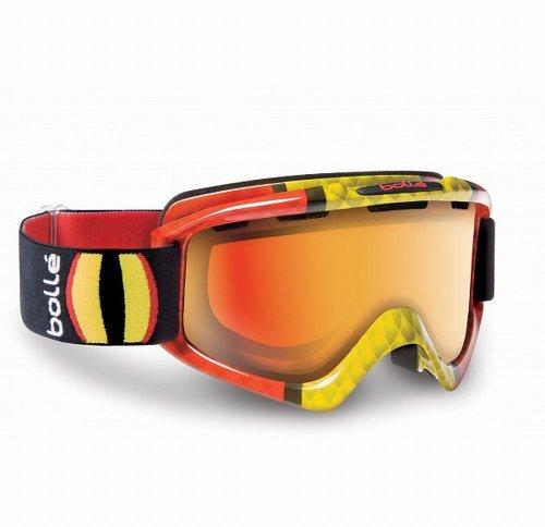 Bollé NOVA Masque de Ski/Snowboard Snake Eyes Jaune/or (Miroir) 20559 objectif