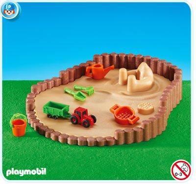 PLAYMOBIL 6246 - Bac à sable