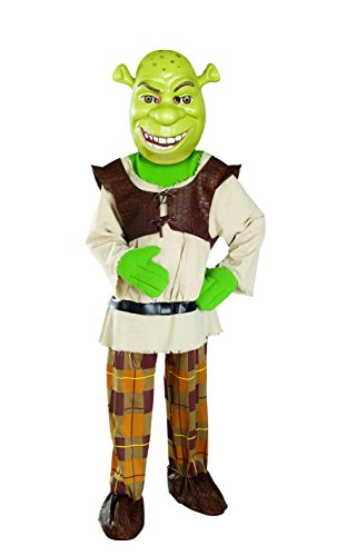 (Shrek Child's Deluxe Costume And Mask, Shrek)