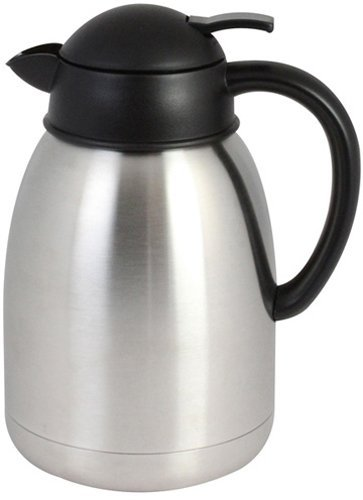 64 Coffee Black Decanter Oz (Update International (SA-19X) 64 oz Sup-R-Serve Coffee Server)
