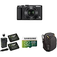 Nikon COOLPIX A900 Digital Camera (Black) Starter Bundle
