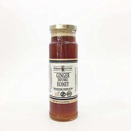 - VERDANT KITCHEN Ginger Infused Honey, 12 oz.
