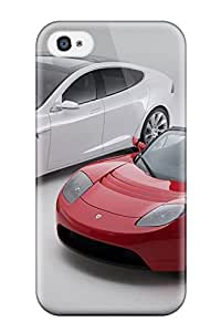 New Iphone 4/4s Case Cover Casing(tesla Model S 23)