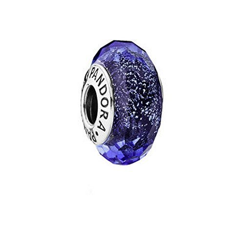 Beads Murano Pandora - PANDORA Charm 791646 Bead Silver Woman Iridescent Murano Glass Faceted
