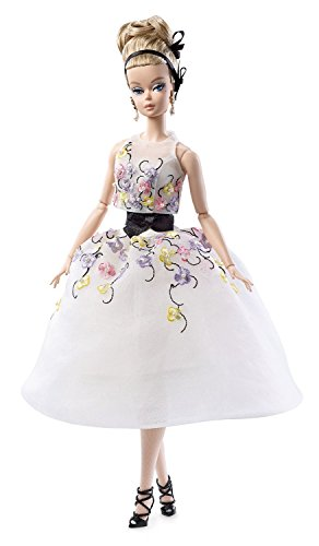 (Barbie DGW56 Collection Classic Cocktail Dress Silkstone Doll)