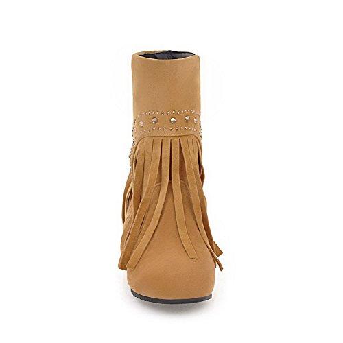 35 Donna BalaMasaAbl10658 Zeppa Yellow Sandali Giallo con UnSUYAwOWH