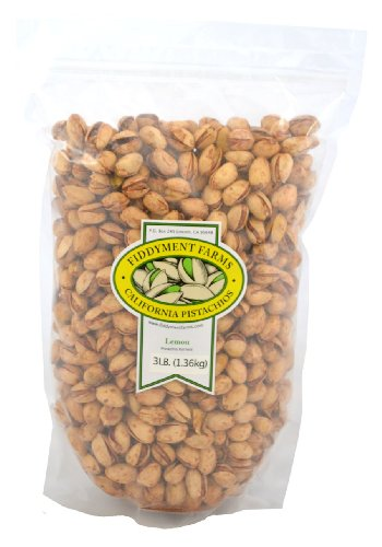 Fiddyment Farms 3lb Lemon In-shell Pistachios ()