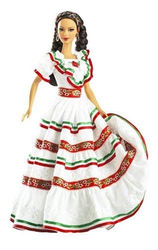 Festivals Doll of the World: Cinco De Mayo Barbie Doll Festivals 06918a