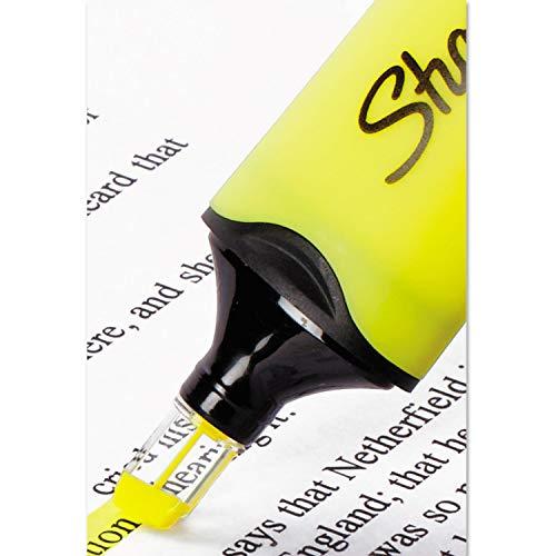 Sharpie 1897847 Clearview Highlighter Blade Tip Fluorescent Yellow Ink Dozen by Sanford (Image #3)