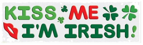 [Happy St. Patricks Day Decorations: Reusable Window Gel Clings, 6