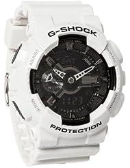 G-Shock GA-110 Garish Trending Series Mens Luxury Watch - White / One Size