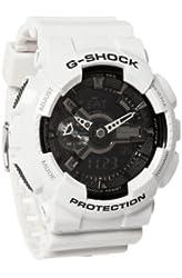 G-Shock GA-110 Garish Trending Series Men's Luxury Watch - White / One Size