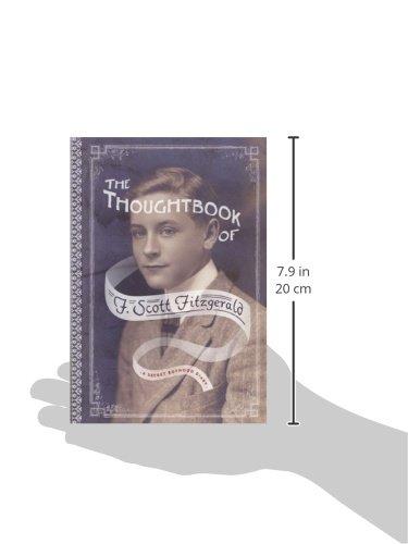 The Thoughtbook Of F Scott Fitzgerald A Secret Boyhood Diary