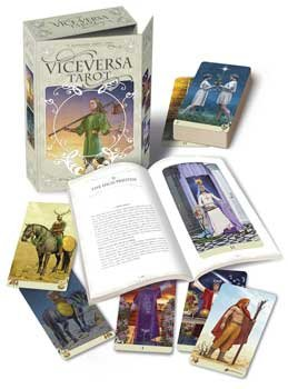 RBI Fortune Telling Toys Viceversa Deck and Book Get Answers With Tarot Cards Cast Your Future