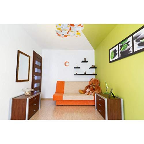 Demarkt Plafonnier Carr E Joyeux Moderne Verre Multicolore Mosa Ique
