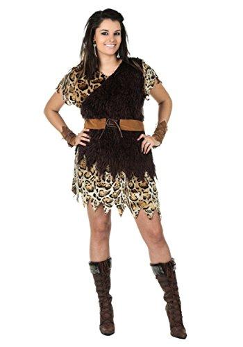 Plus Size Cavewoman Costume 2X (Cavewoman Halloween Costumes Plus Size)