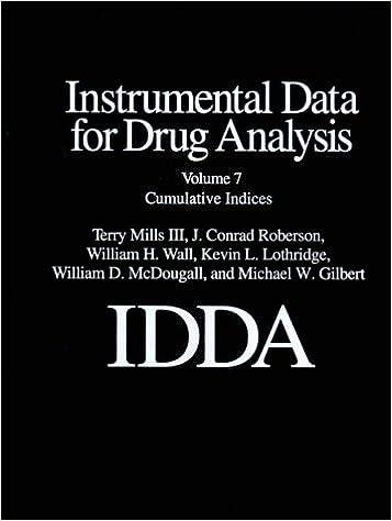 E-books à télécharger gratuitement Instrumental Data for Drug Analysis, Vol. 7, 2nd Edition FB2
