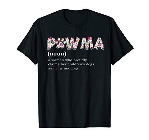 Pawma Definition T-shirt mama Grandma aunt dog lovers shirt