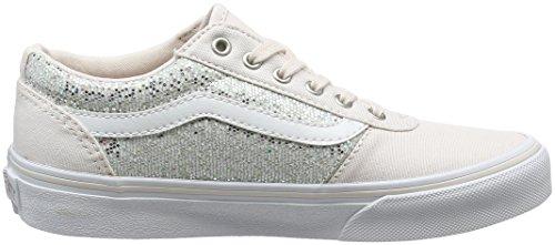 Vans Unisex-Kinder Maddie Sneaker Rosa (Glitter)