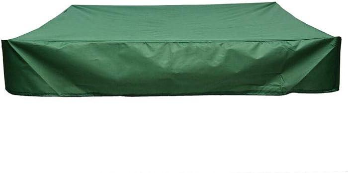 avec cordon de serrage B/âche imperm/éable en tissu Oxford B/âche de protection carr/ée pour bac /à sable B/âche de protection pour bac /à sable pour jardin et ferme.