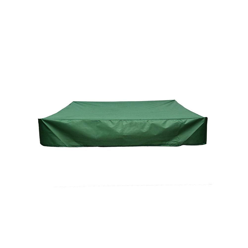 B/âche imperm/éable en tissu Oxford B/âche de protection carr/ée pour bac /à sable pour jardin et ferme. B/âche de protection pour bac /à sable avec cordon de serrage