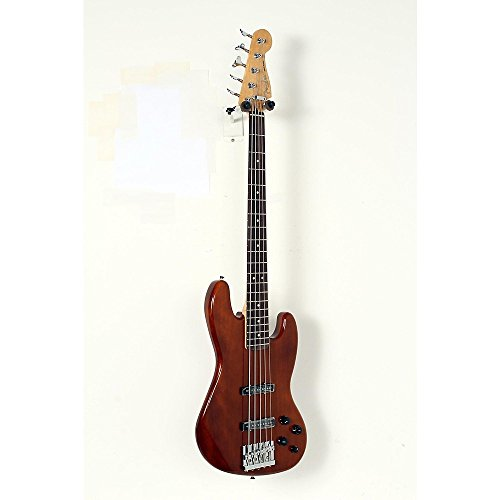Fender Deluxe Active Jazz Bass V Okume Rosewood Fingerboard Electric Bass Guitar Level 2 Natural - Active Bass Electric Jazz