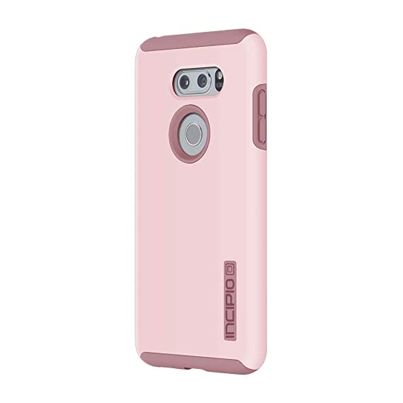 premium selection ea17a 7923d Incipio DualPro LG V30 Case with Shock-Absorbing Inner Core & Protective  Outer Shell for LG V30 -