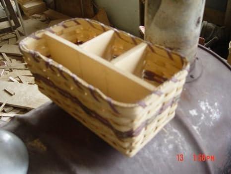 Amish Made Picnic Organizer Basket