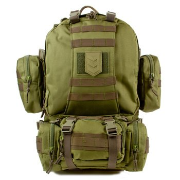 Paratus 3 Day Operator's Pack - Military Style MOLLE Compatible Tactical Backpack (Olive Drab Green)