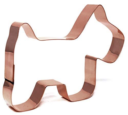 Simple Primitive Dog Cookie Cutter (Scotty Dog Cookie Cutter)