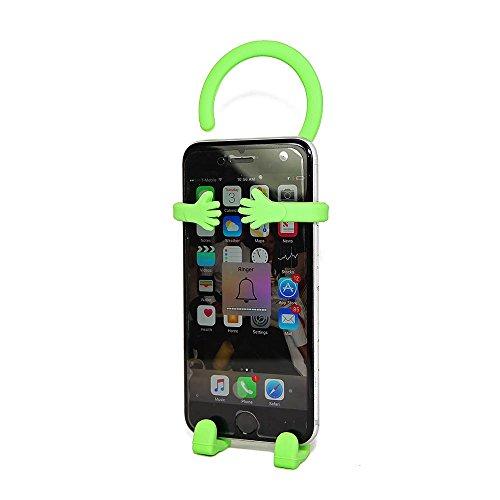 Bondi Silicon Flexible Cell Phone Holder, (Green)