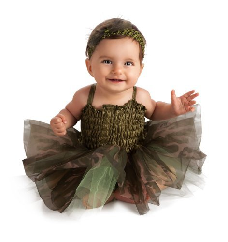 Infant Camo Tutu Costumes (Rubie's Costume Co NLP Camo Tutu Costume, 6-9 Months)