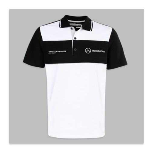 genuine mercedes benz men 39 s motorsport polo shirt size 2xl buy online in uae products in. Black Bedroom Furniture Sets. Home Design Ideas