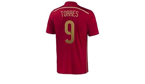 adidas Torres #9 España Camiseta 1ra Copa Mundial (2XL): Amazon.es: Deportes y aire libre
