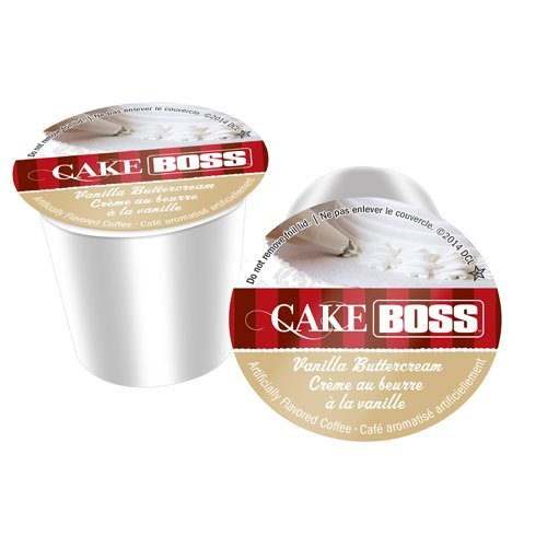 Cake Boss SNCB5248-96 Vanilla Buttercream Coffee - 96 Count by Cake Boss