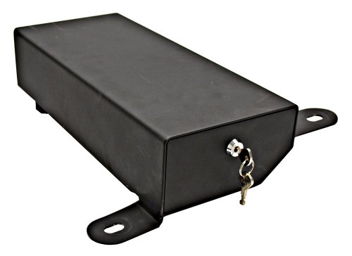 01 Lo Side Box (Bestop 42642-01 Black Under Seat Passenger Side Lock Box for 2007-2018 Wrangler Unlimited & 2008-2010 Wrangler 2-Door)