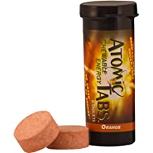 Atomic Tabs Chewable Energy - Orange - 6 Serving Container