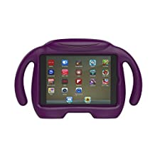 Samsung Galaxy Tab A 8.0 Case - CROMI Kids Friendly ShockProof Standing Cover Handle Case for Tab A 8-inch Tablet SM-T350 (Tab A 8.0, Purple)