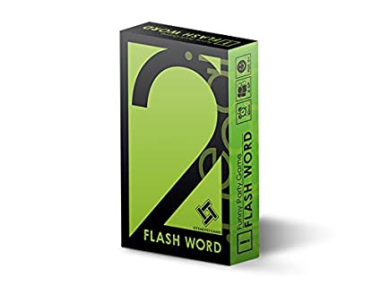 amazon スピード型瞬間連想ゲーム flash word カードゲーム
