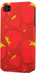 Strawberries Pattern Dimensional Case Fits Apple iPhone 5c