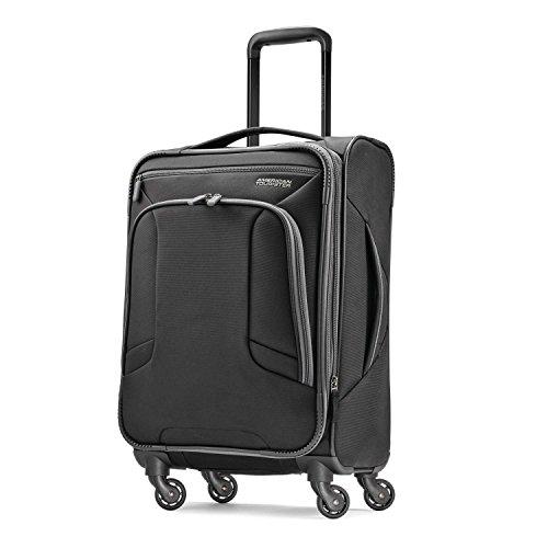 American Tourister 4 Kix Spinner 21, Black/Grey